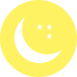 月のアイコン